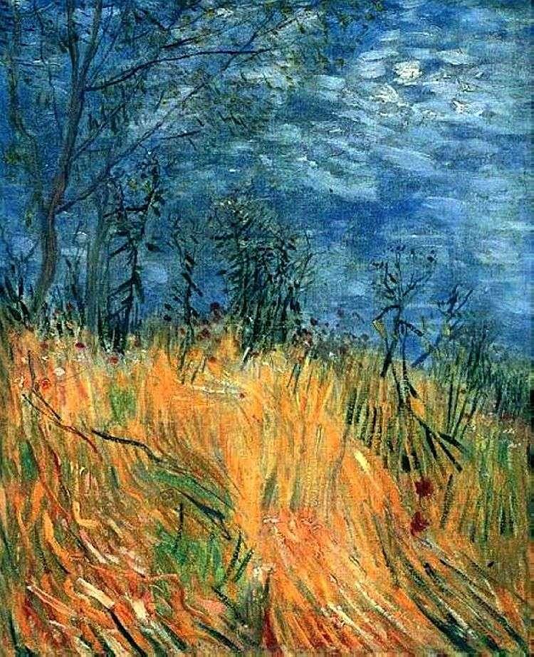 Край пшеничного поля с маками   Винсент Ван Гог