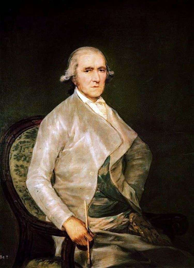 Портрет Франсиско Байеу   Франсиско де Гойя
