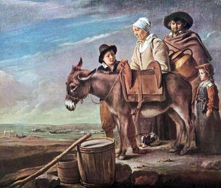 Семейство молочницы   Луи Ленен