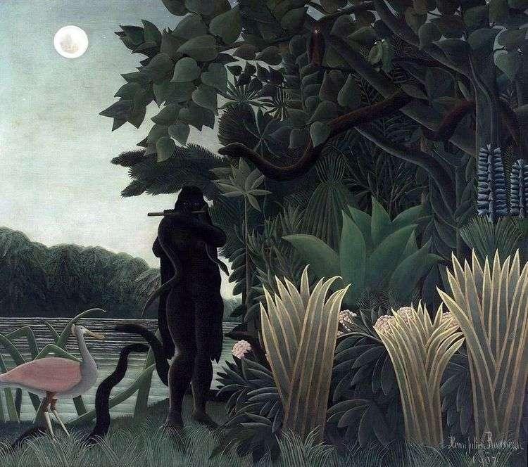 Заклинательница змей   Анри Руссо
