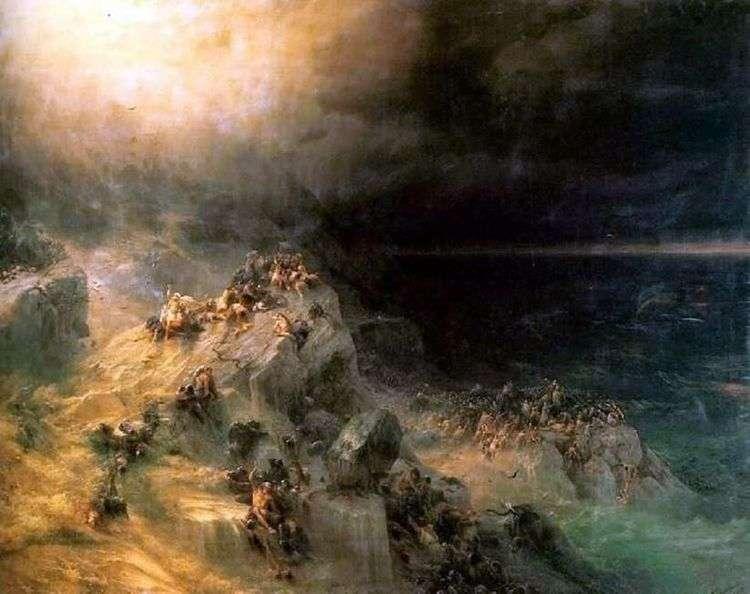 Всемирный потоп   Иван Айвазовский