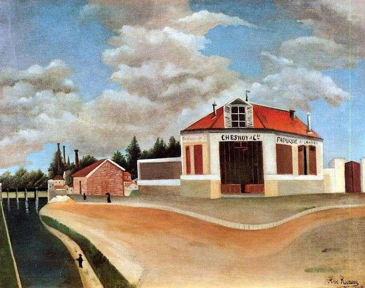 Мебельная фабрика в Альфортвиле   Анри Руссо