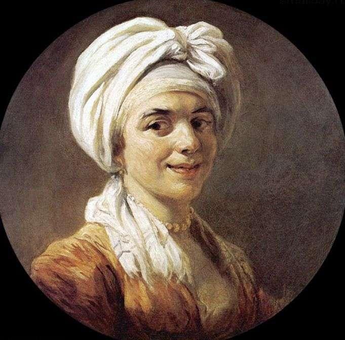 Портрет мадам Мари Анны Фрагонар