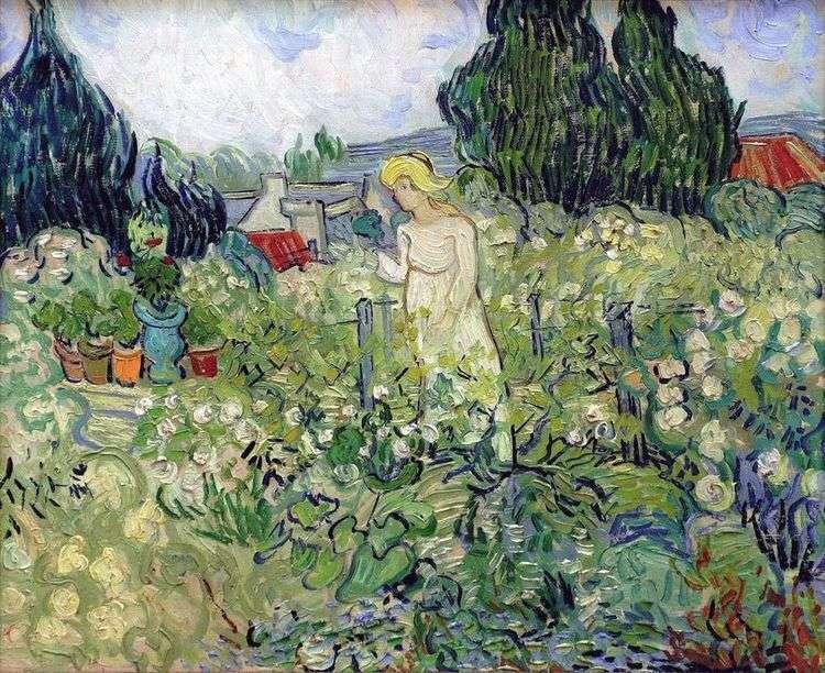 Маргарита Гаше в саду   Винсент Ван Гог
