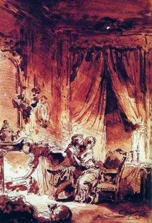 Прощеный слуга   Жан Оноре Фрагонар