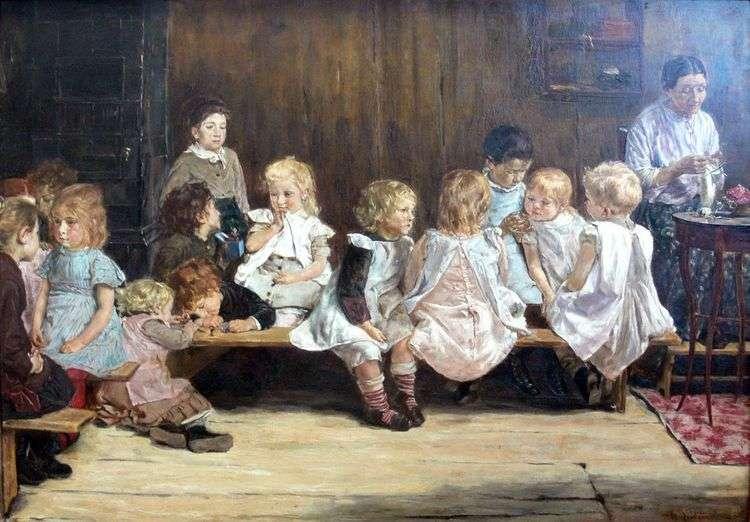 Детский сад в Амстердаме   Макс Либерман