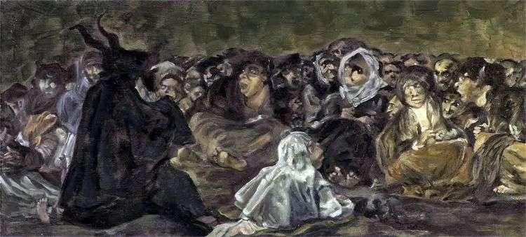 Шабаш ведьм   Франсиско де Гойя