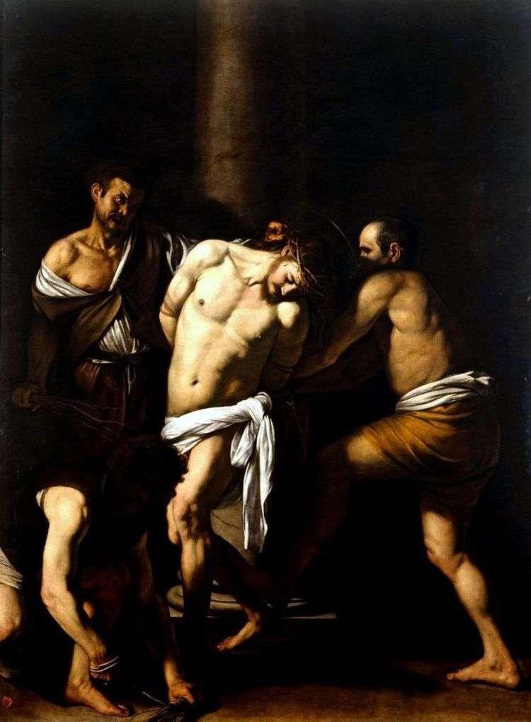Бичевание Христа   Микеланджело Меризи да Караваджо