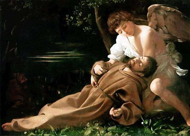 Блаженство святого Франциска   Микеланджело Меризи да Караваджо