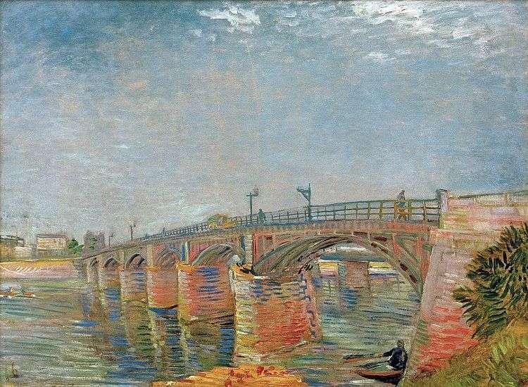 Мост через Сену в Аньере   Винсент Ван Гог