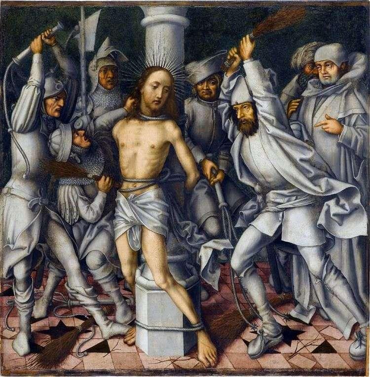 Бичевание Христа   Ганс Гольбейн