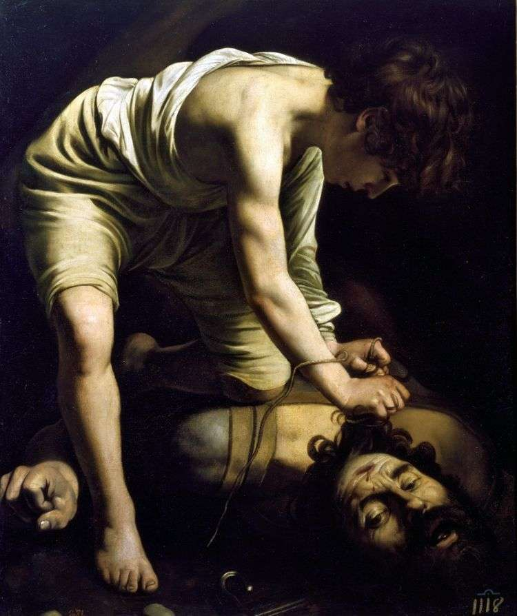 Давид и Голиаф   Микеланджело Меризи да Караваджо