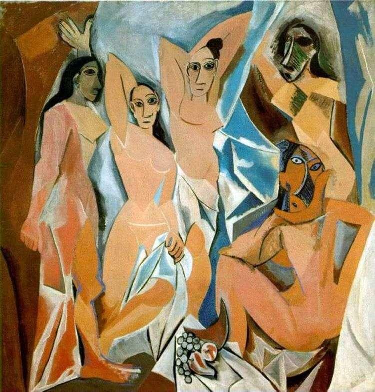 Авиньонские девицы   Пабло Пикассо