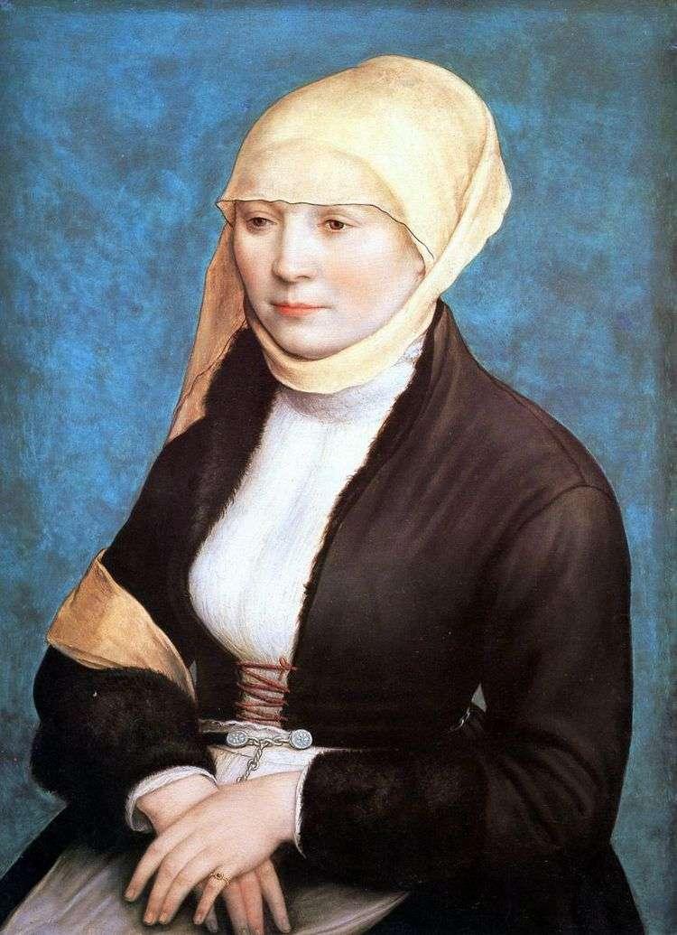 Женский портрет   Ганс Гольбейн