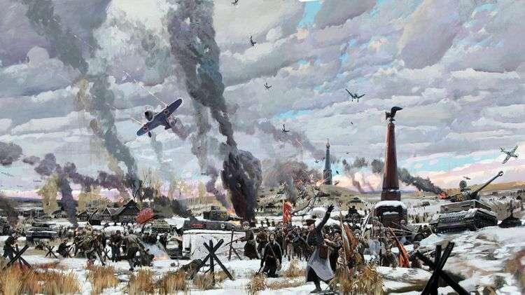 Битва под Москвой   Павел Рыженко