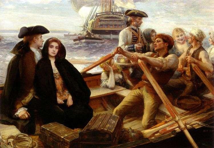 Веселенькое судно   Альберт Линч