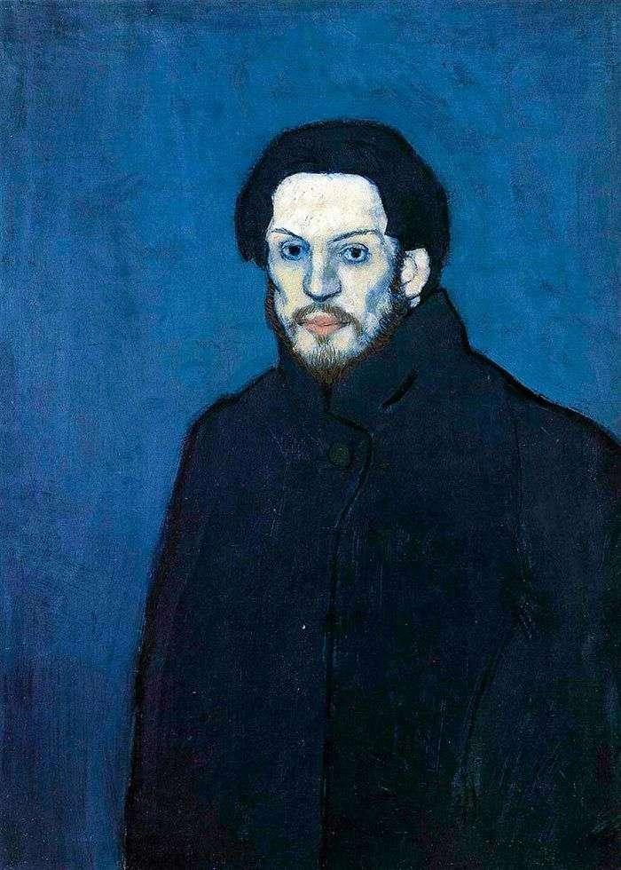 Автопортрет в голубой период   Пабло Пикассо