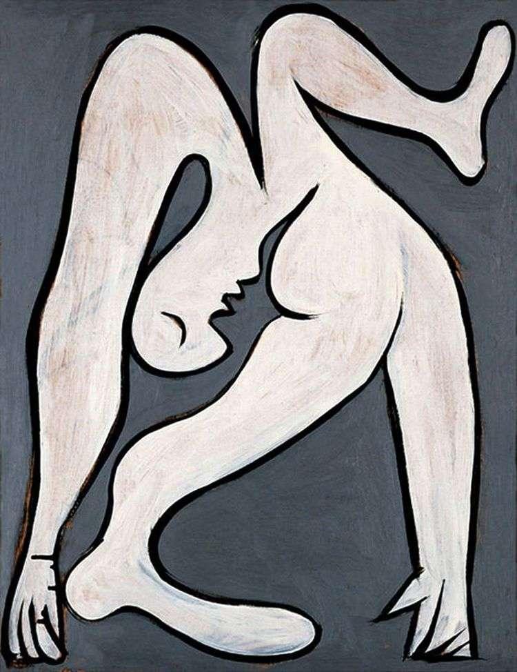 Акробатка   Пабло Пикассо