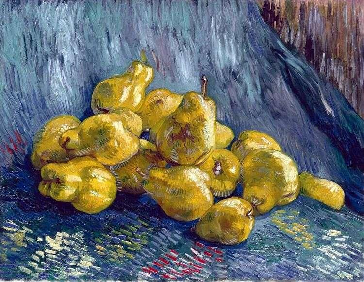 Натюрморт с грушами   Винсент Ван Гог