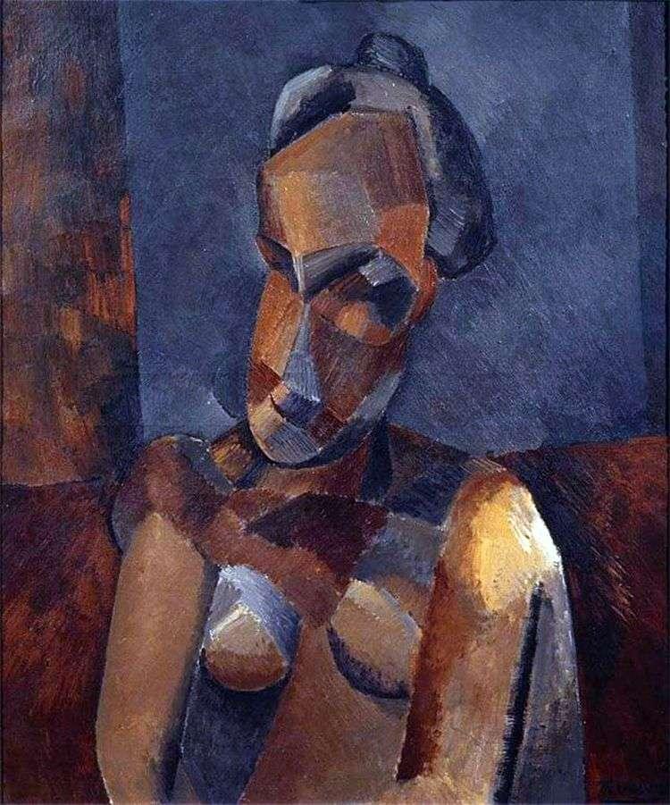 Бюст женщины   Пабло Пикассо