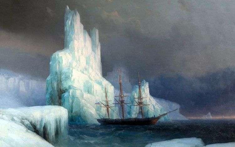 Ледяные горы в Антарктиде   Иван Айвазовский