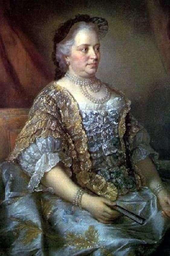 Портрет австрийской императрицы Марии Терезии   Жан Этьен Лиотар