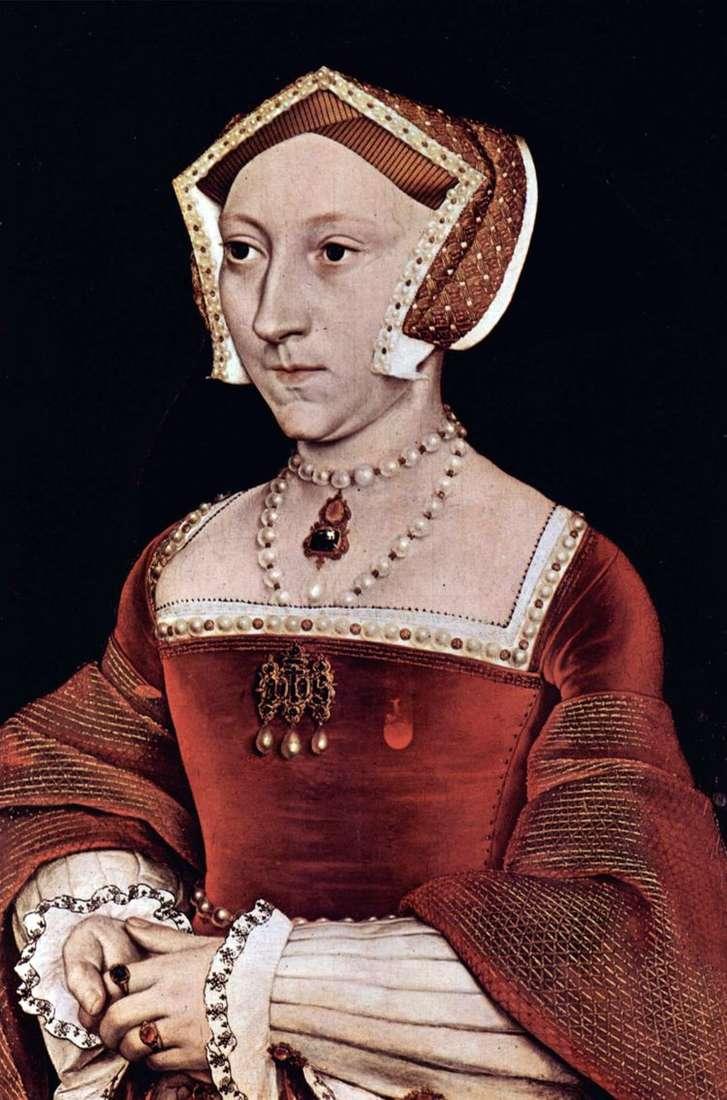 Портрет английской королевы Джейн Сеймур   Ганс Гольбейн
