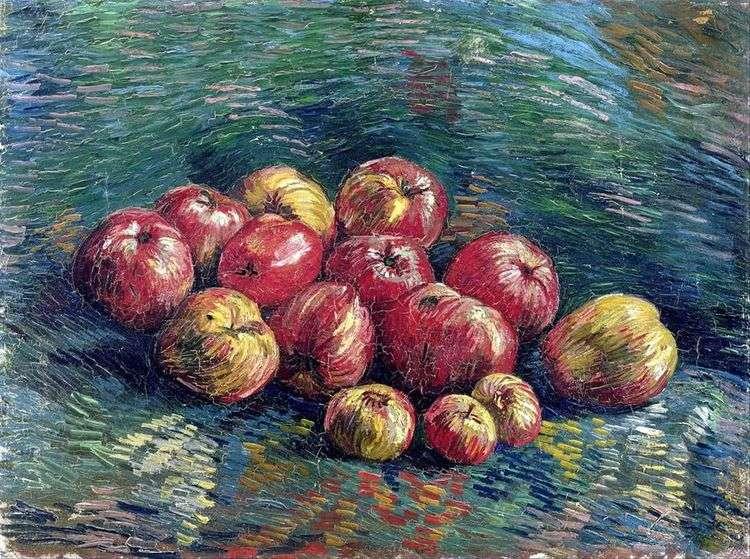 Натюрморт с яблоками — Винсент Ван Гог📕
