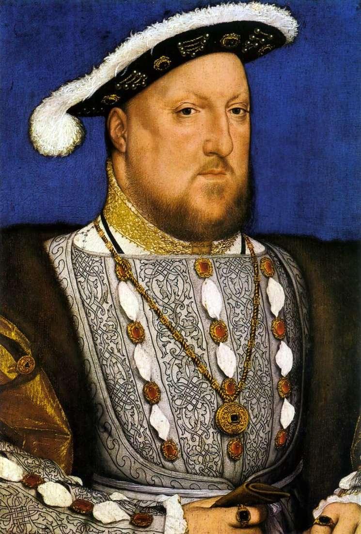 Портрет Генриха VIII   Ганс Гольбейн