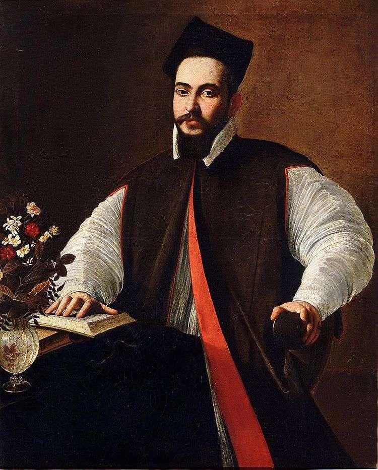 Маффео Барберини, будущий папа Урбан VIII   Микеланджело Меризи да Караваджо