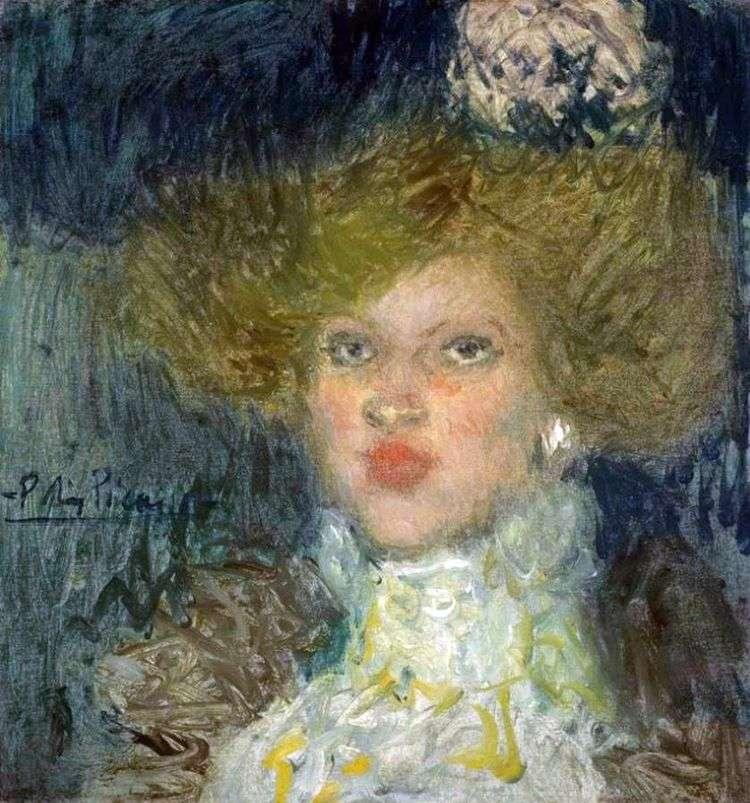 Голова женщины   Пабло Пикассо