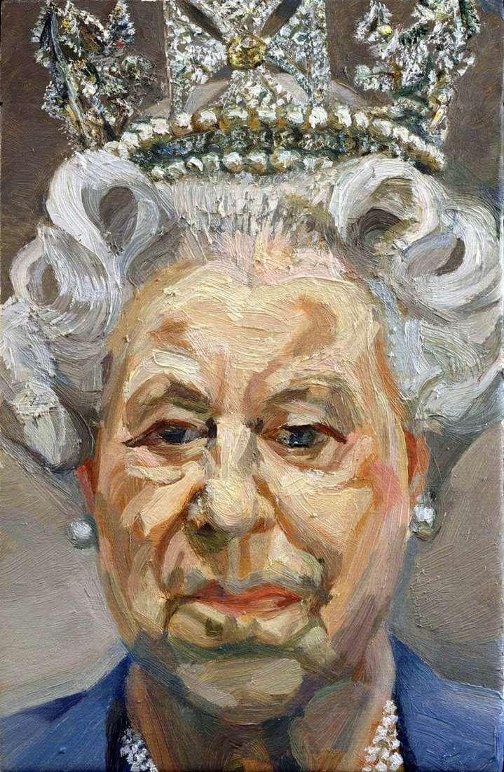 Королева Елизавета II   Люсьен Фрейд