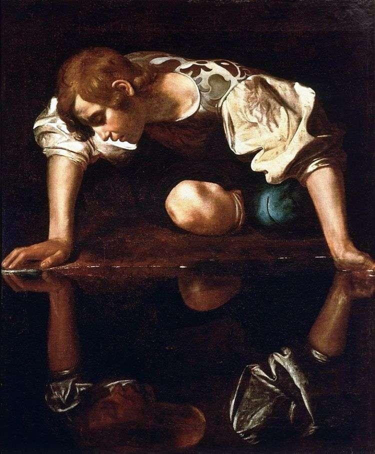 Нарцисс у ручья   Микеланджело Меризи да Караваджо