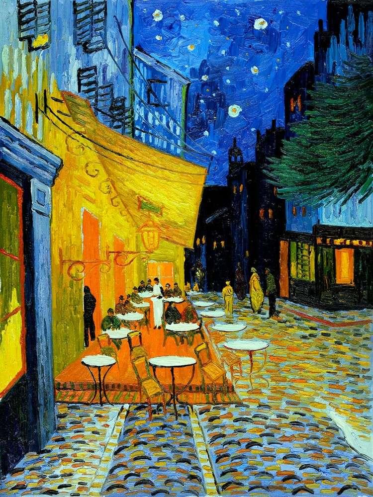 Ночная терраса кафе   Винсент Ван Гог