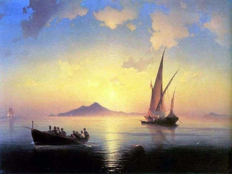 Неаполитанский залив   Иван Айвазовский