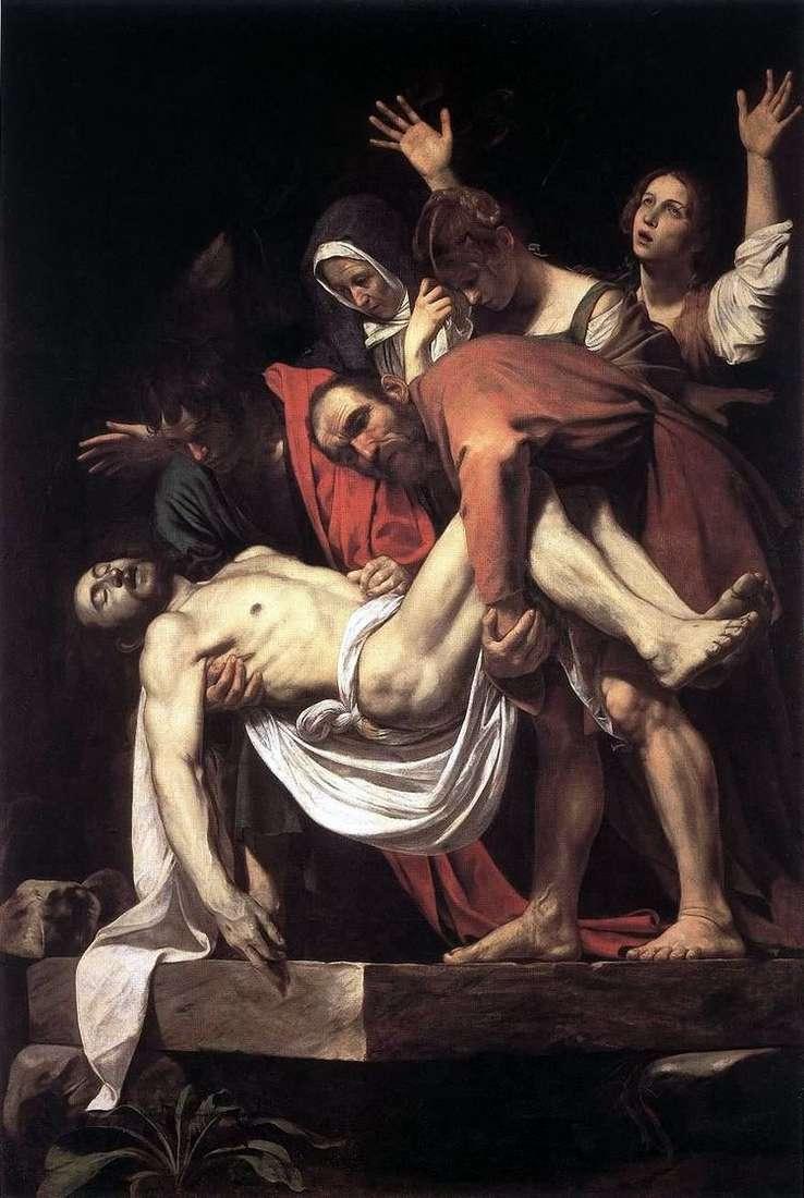 Положение во гроб   Микеланджело Меризи да Караваджо