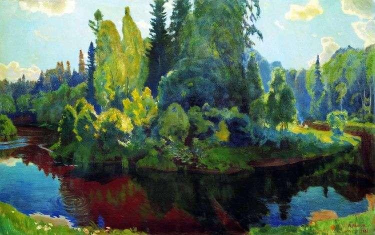 На природе   Аркадий Рылов