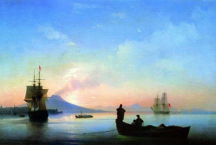 Неаполитанский залив утром   Иван Айвазовский