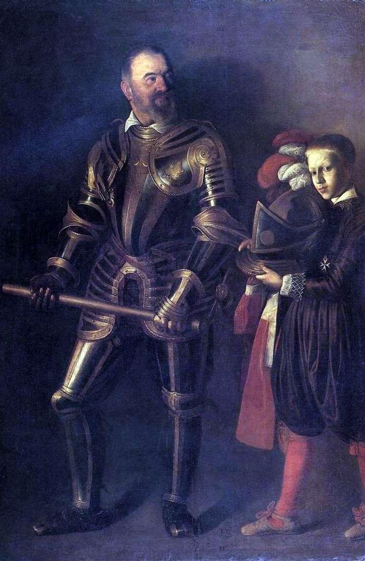 Портрет Алофа де Виньякура   Микеланджело Меризи да Караваджо