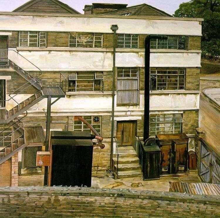 Фабрика в Лондоне   Люсьен Фрейд