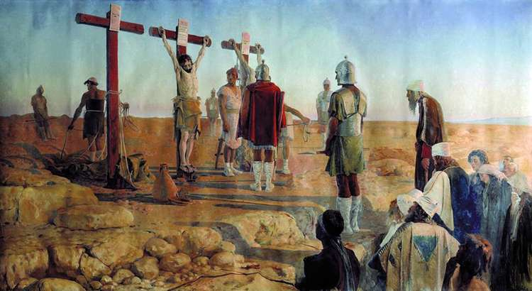 Голгофа (Снятие с креста)   Андрей Петрович Рябушкин