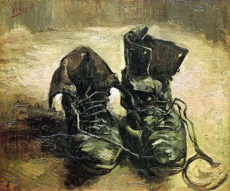 Пара ботинок II   Винсент Ван Гог