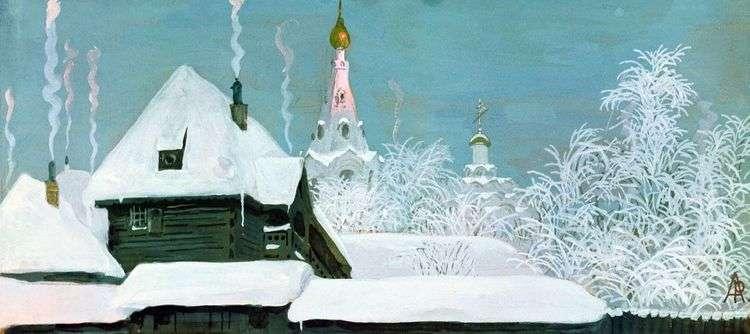 Зимнее утро   Андрей Рябушкин
