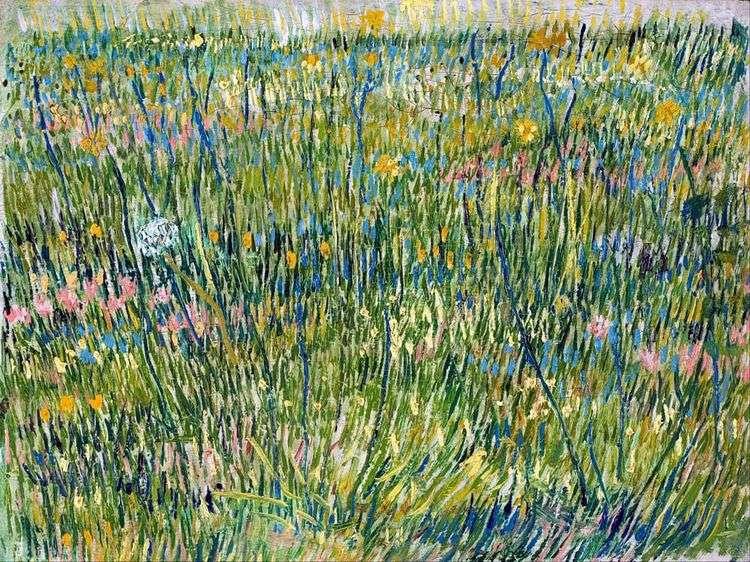 Пастбища в цвету   Винсент Ван Гог
