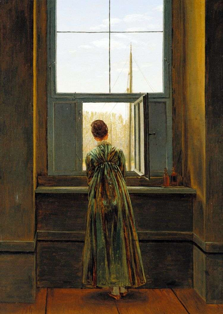 Женщина у окна   Каспар Давид Фридрих