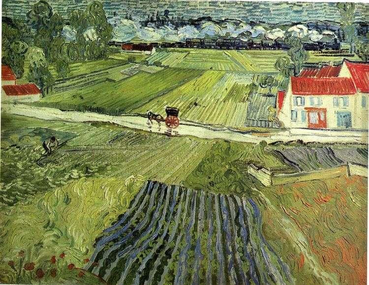 Пейзаж в Овере после дождя   Винсент Ван Гог