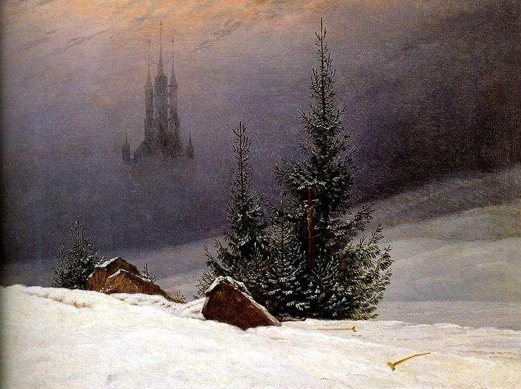 Зимний пейзаж   Каспар Давид Фридрих