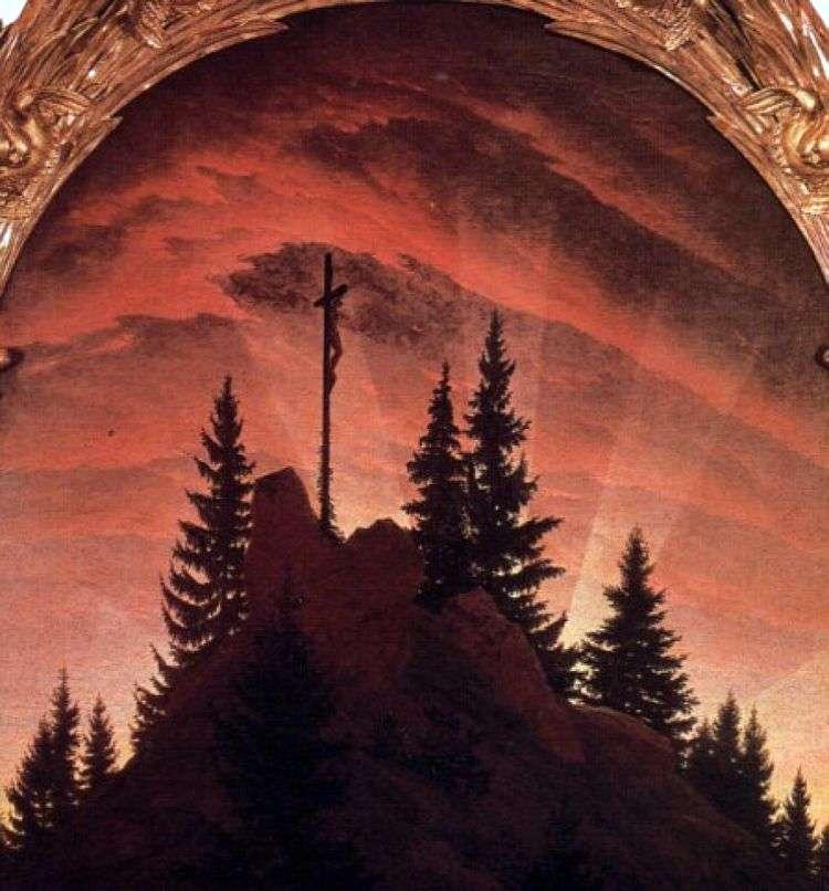 Крест в горах   Каспар Давид Фридрих