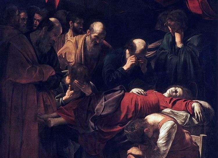 Смерть Марии   Микеланджело Меризи да Караваджо