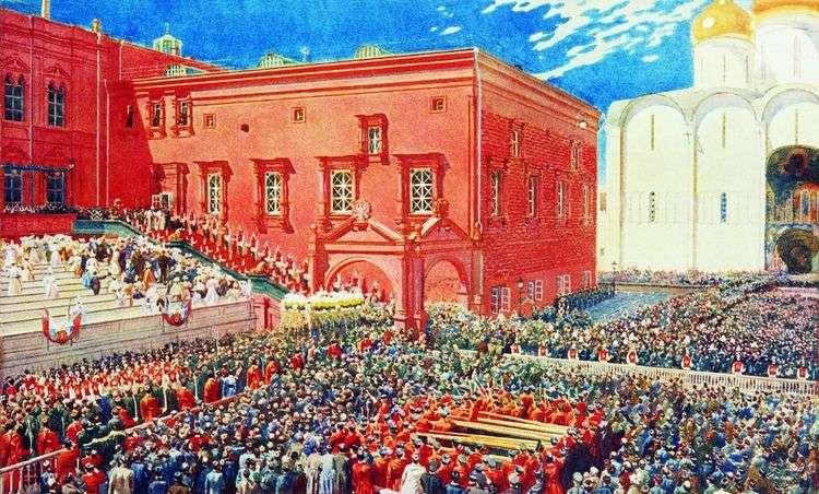 Поклон с красного крыльца   Андрей Рябушкин